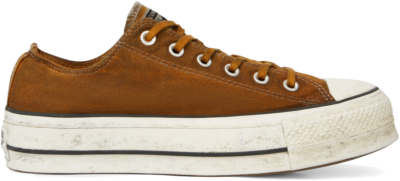 Converse Chuck Taylor All Star Canvas Rust Platform Low Top White 565762C