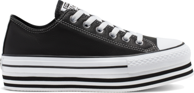 Converse Chuck Taylor All Star Platform Low Top Black 565828C