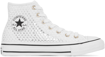 Converse Chuck Taylor All Star Crochet High Top White/ Black 564870C