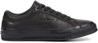Converse Converse One Star Leather Low Top Black 163110C