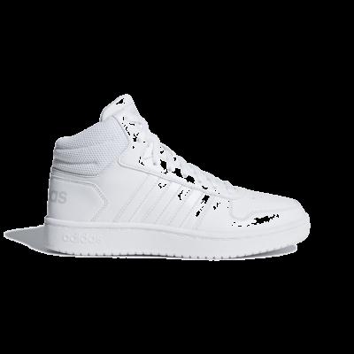 adidas Hoops 2.0 Mid Cloud White B42099