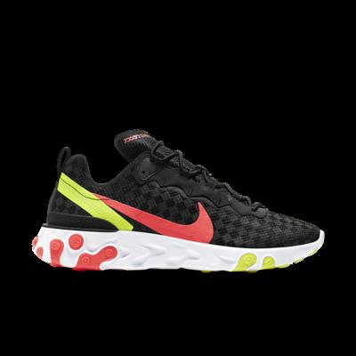 "Nike React Element 55 ""Hyper Crimson Volt"" CJ0782-001"