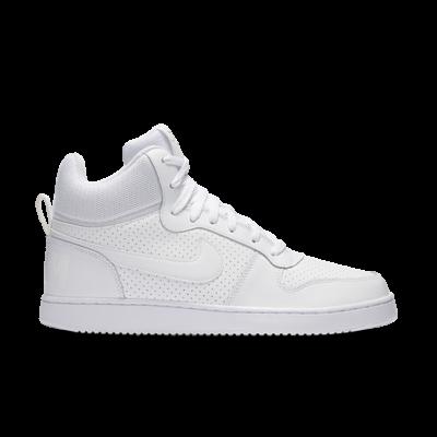 Nike Court Borough Mid White 838938-111