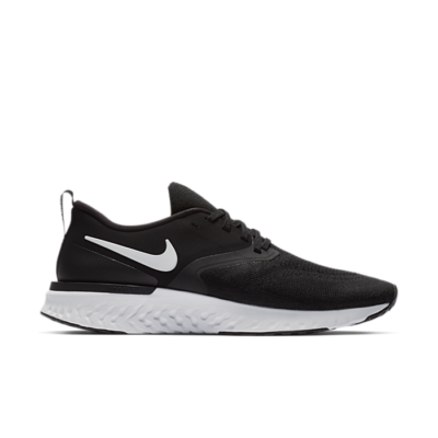 Nike Odyssey React 2 Flyknit Black White AH1015-010