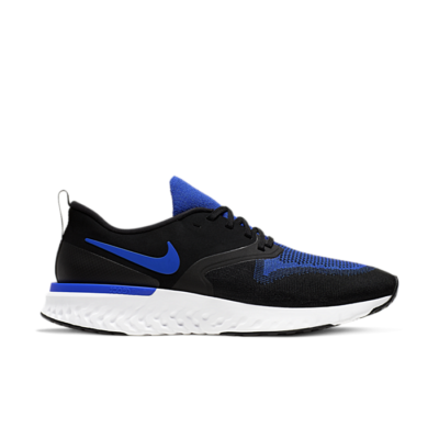 Nike Odyssey React 2 Flyknit 'Black Racer Blue' Black AH1015-011