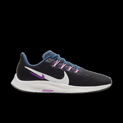Nike Air Zoom Pegasus 36 Black Valerian Blue (W) AQ2210-012