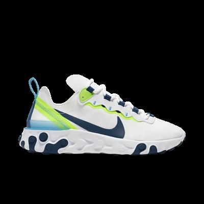 Nike Wmns React Element 55 White  BQ2728-102
