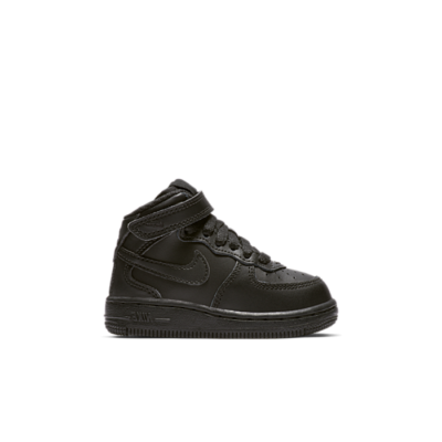 Nike Air Force 1 Mid Black Black  (TD) 314197-004
