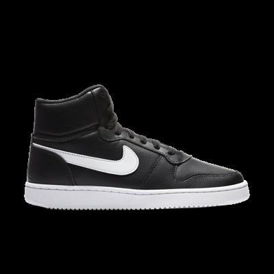 Nike Ebernon Mid Zwart AQ1778-001