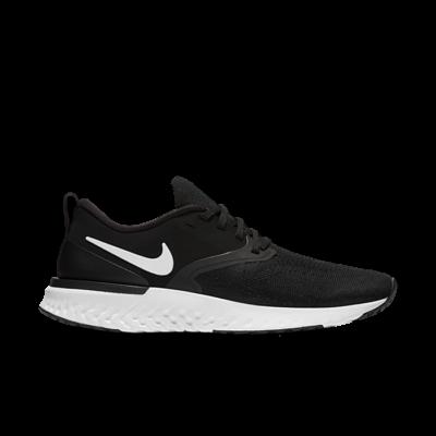 Nike Odyssey React 2 Flyknit Black White (W) AH1016-010