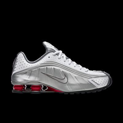 Nike Shox R4 Metallic Silver Comet Red (2018) BV1111-100