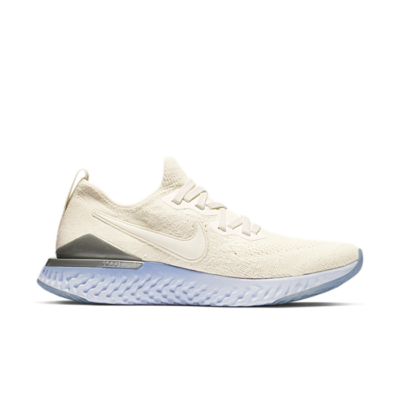 Nike Epic React Flyknit 2 Sail Aluminum (W) BQ8927-100