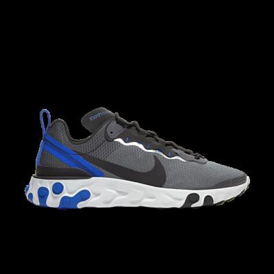 Nike React Element 55 SE Black Racer Blue CI3831-003