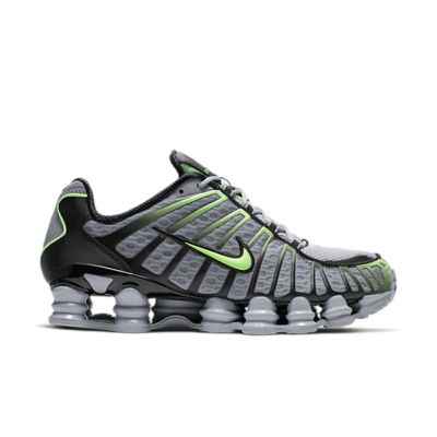 Nike Shox TL Wolf Grey Lime Blast AV3595-005