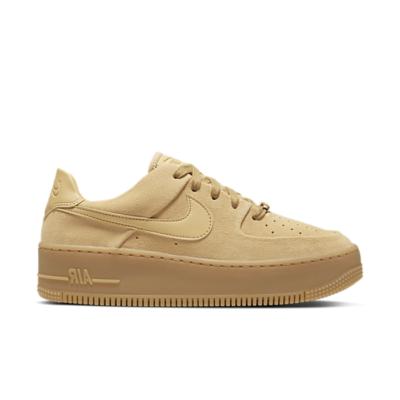 Nike Air Force 1 Sage Low Club Gold (W) CT3432-700