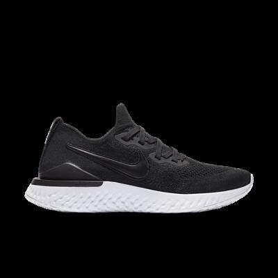 Nike Epic React Flyknit 2 Black White (W) BQ8927-002