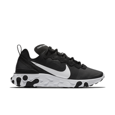 "Nike Wmns React Element 55 ""Black/White"" BQ2728-003"