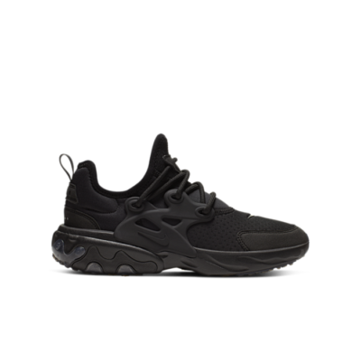 Nike React Presto Triple Black (GS) BQ4002-005