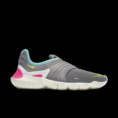Nike Wmns Free Rn Flyknit 3.0 Grey AQ5708-002