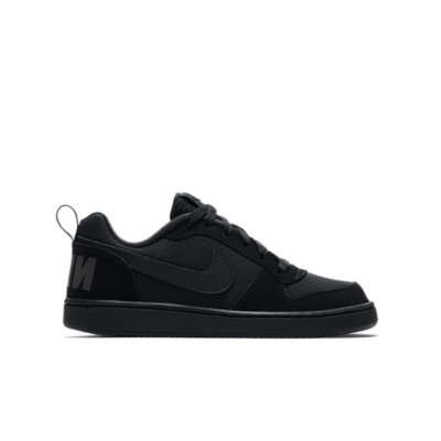 Nike Court Borough Low Zwart 839985-001