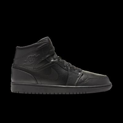 """Jordan Air Jordan 1 Mid """"Black"""" 554724-090"""