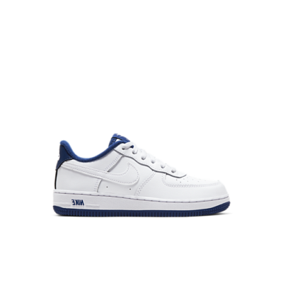 Nike Air Force 1 Low White Deep Royal Blue (PS) CU0816-102