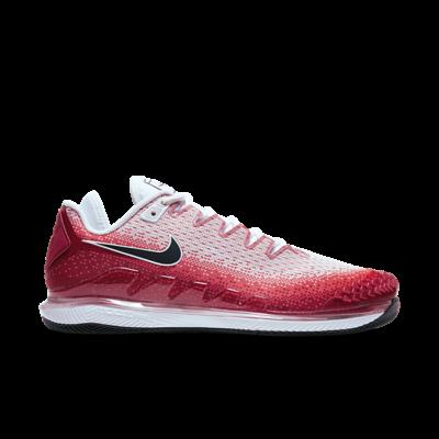 NikeCourt Air Zoom Vapor X Knit Hardcourt Rood AR0496-600