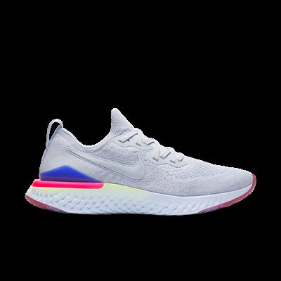 Nike Epic React Flyknit 2 Hydrogen Blue Sapphire Hyper Pink BQ8928-453