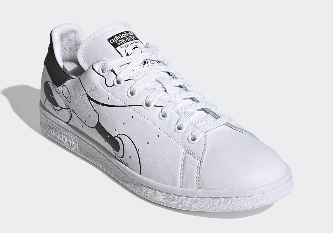 stan smith disney adidas shoe