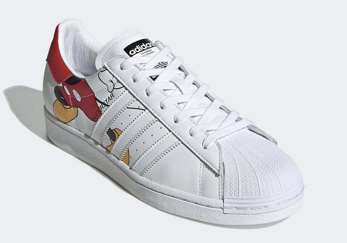 adidas shelltoe mickey