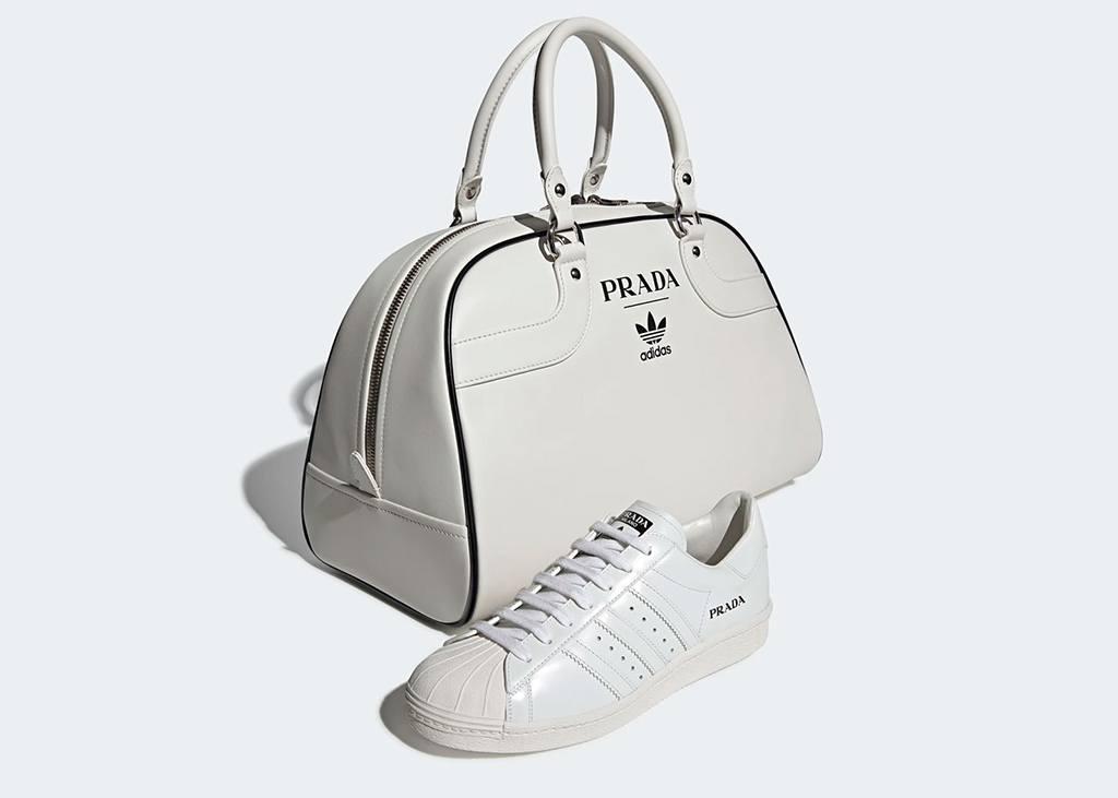 adidas prada superstar bowling bag