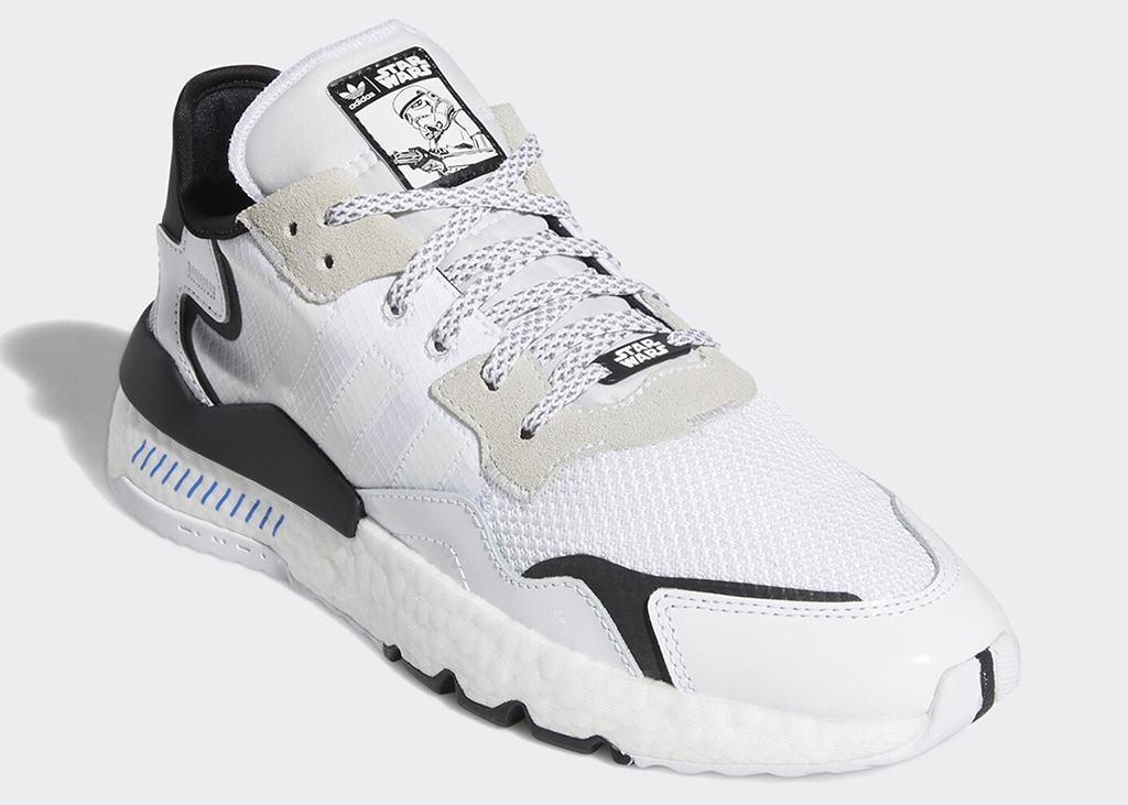 Nieuwe Star Wars x adidas schoen: Nite Jogger Storm Trooper