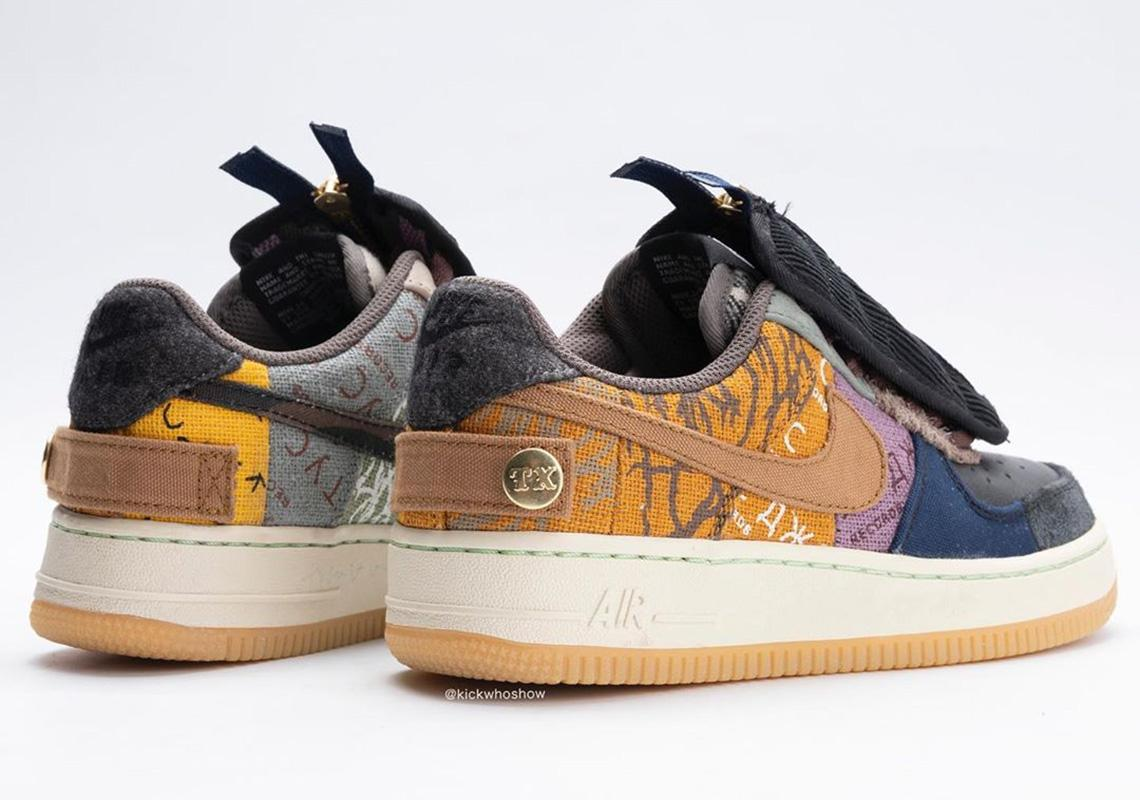 achterkan travis scott air force 1