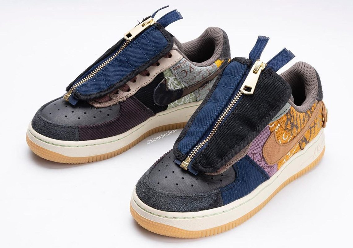 travis scott air force 1 tong