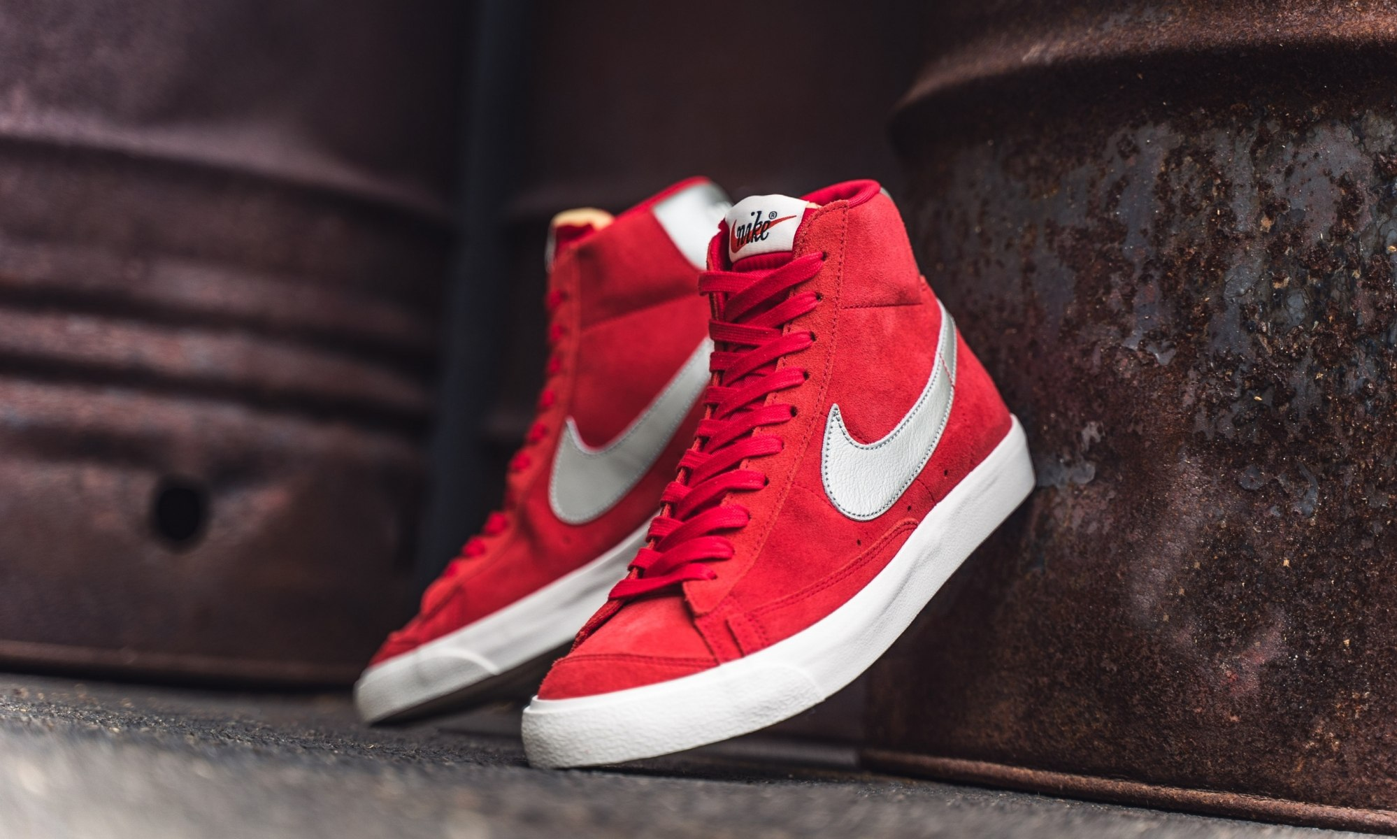 Rode Nike Blazer medium 77