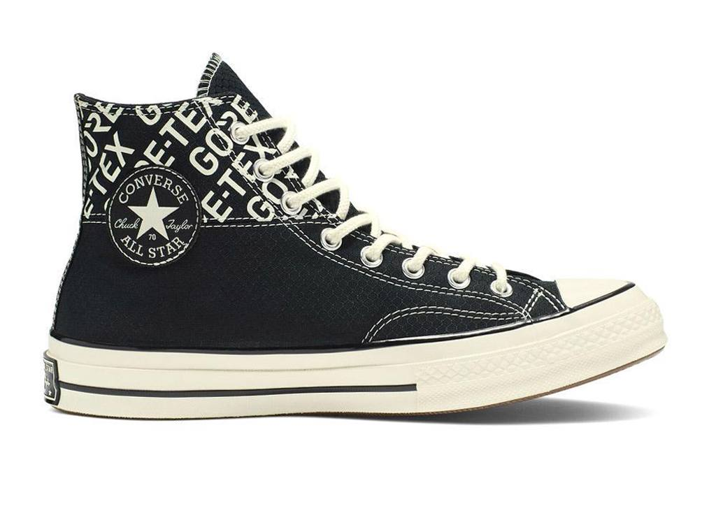 Zwarte All Stars hoog Goretex