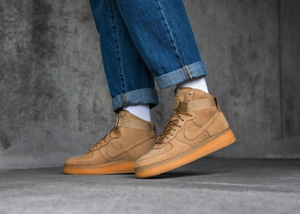 Nike Air Force 1 wheat 07 high