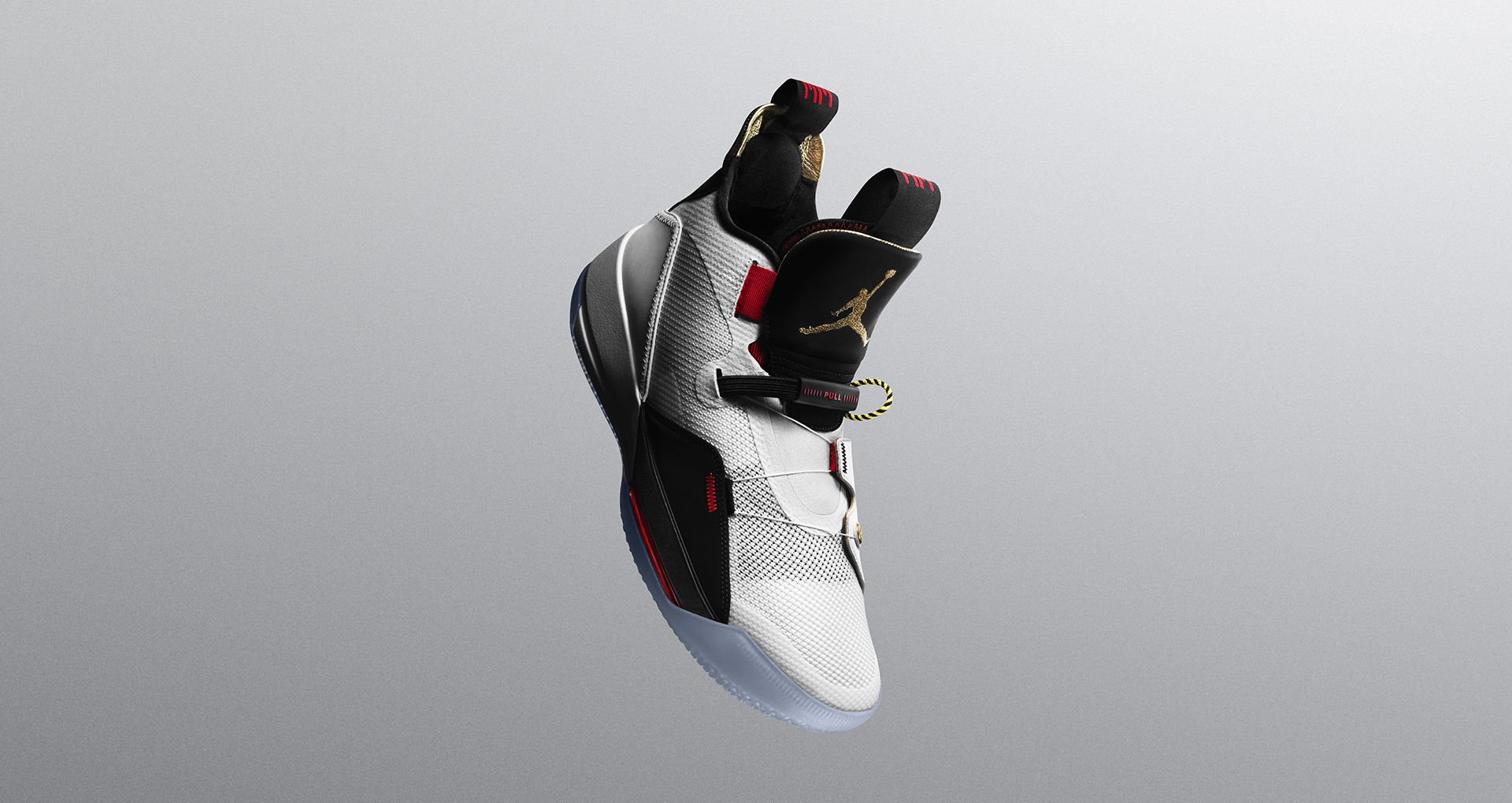 Jordan 33 white metallic gold black