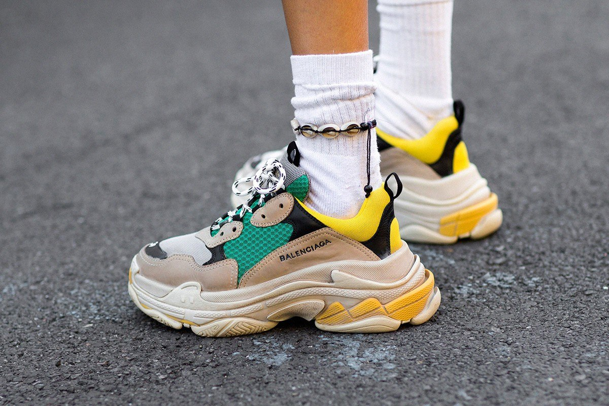 Balenciaga triple S ugly sneaker