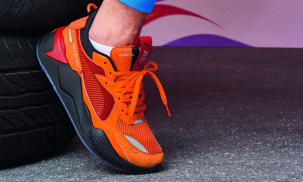 Puma x Hot wheels koningsdag sneakers