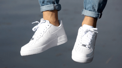 Nike Air Force 1 Low Triple white zomer sneakers