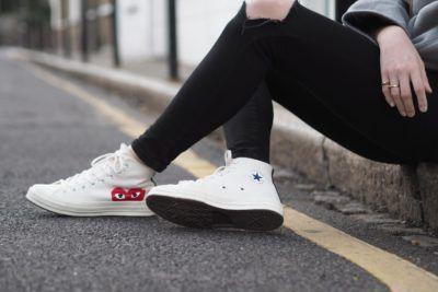 Vrouwen sneakers Comme des Garcons
