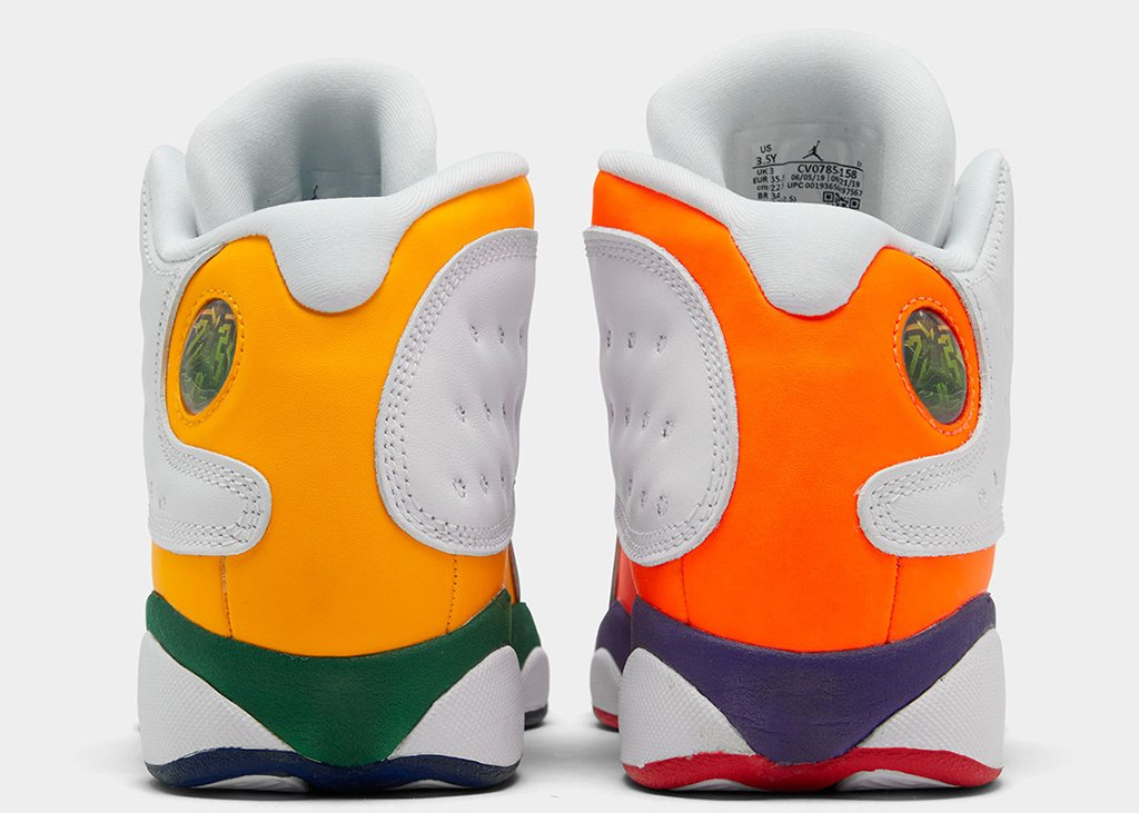 For the kids: Air Jordan 13 GS Retro Multi-Color
