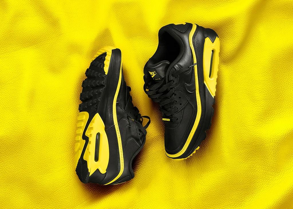 Officiële foto's van UNDEFEATED x Nike Air Max 90