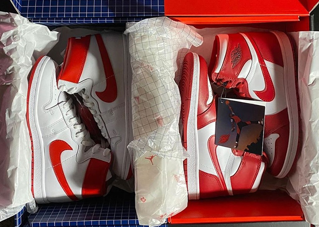 Nike Air Ship x Air Jordan 1 package: first look