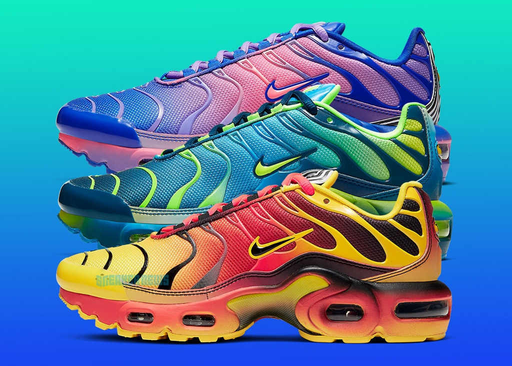 Just for kids: de nieuwe Nike Air Max Plus Gradient Pack