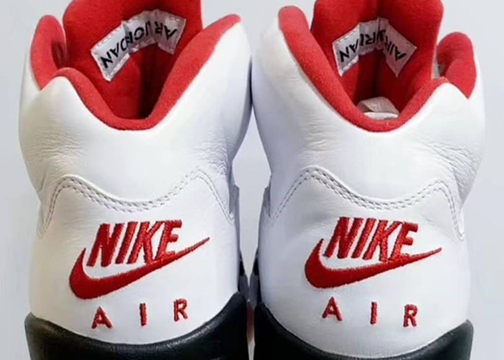 First look: Air Jordan V met Nike Air logo
