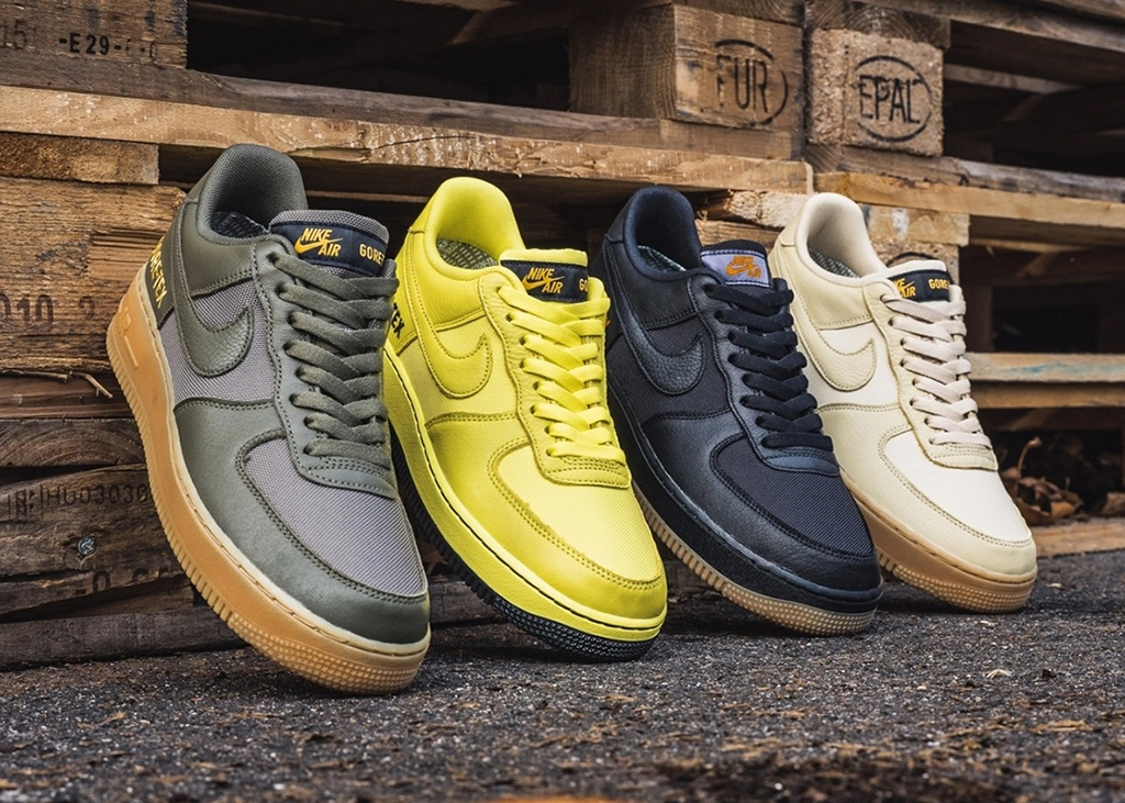 Begin November met de nieuwe Nike Air Force 1 Gore-Tex
