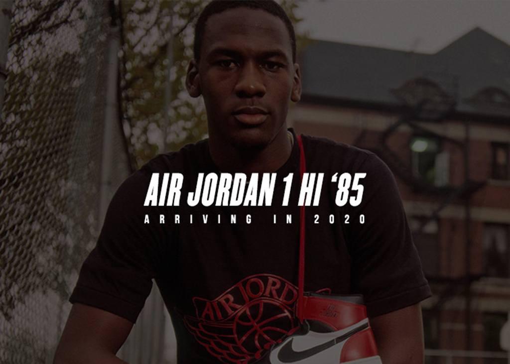 Gerucht: Air Jordan 1 Hi '85 OG