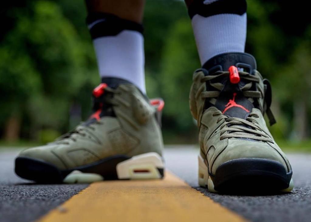 Release reminder: Air Jordan 6 x Cactus Jack op 11 oktober